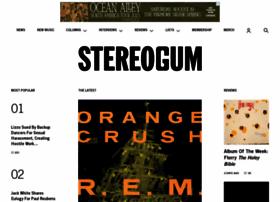 Stereogum.com thumbnail