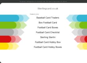 Sterlingcard.co.uk thumbnail