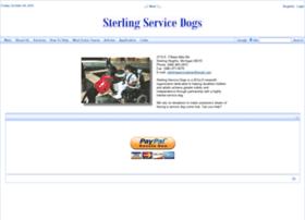 Sterlingservicedogs.org thumbnail