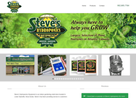 Steveshydroponics.ca thumbnail