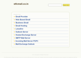 Stfcmail.co.in thumbnail