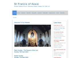 Stfrancischester.co.uk thumbnail