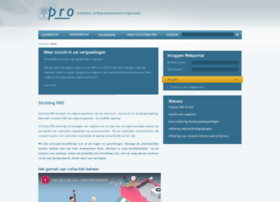 Stichting-pro.nl thumbnail