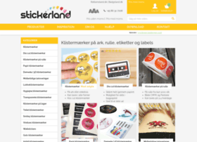 Stickerland.dk thumbnail