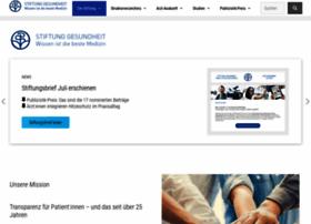 Stiftung-gesundheit.de thumbnail