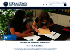 Stnorbertschool.org thumbnail