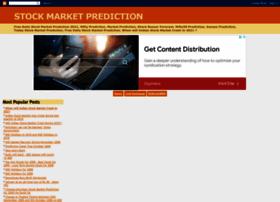 Stockmarketprediction.blogspot.com thumbnail