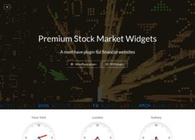 Stockmarketwidgets.financialplugins.com thumbnail