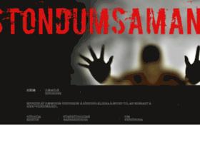 Stondumsaman.is thumbnail