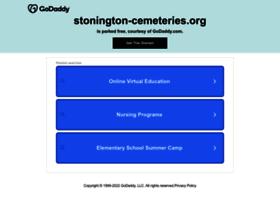 Stonington-cemeteries.org thumbnail