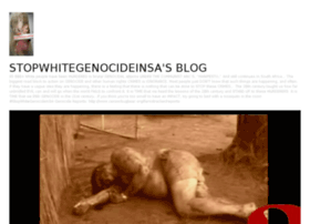 Stopwhitegenocideinsa.wordpress.com thumbnail