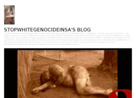 Stopwhitegenocideinsa.wordpress.com thumbnail