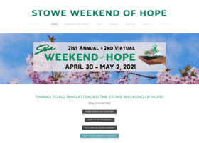 Stowehope.org thumbnail