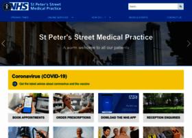Stpetersstreetmedicalpractice.co.uk thumbnail