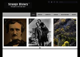 Strangehistory.org thumbnail