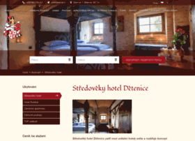 Stredovekyhotel.cz thumbnail