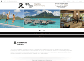Stregisborabora.honeymoonwishes.com thumbnail