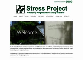Stressproject.org.uk thumbnail