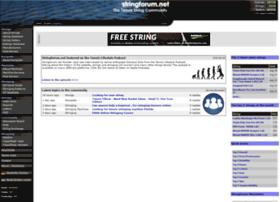 Stringforum.net thumbnail