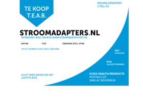 Stroomadapters.nl thumbnail