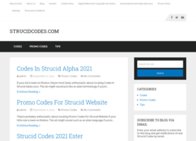 Codes In Strucid 2020