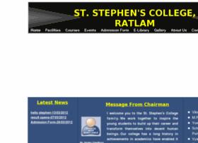 Ststephensratlam.com thumbnail