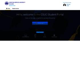 Student.csuc.edu.gh thumbnail