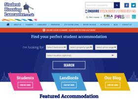 Studenthousinglancaster.co.uk thumbnail