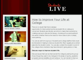 Studentslive.org thumbnail