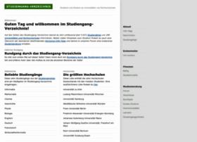 Studiengang-verzeichnis.de thumbnail