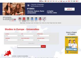 Studies-in-europe.eu thumbnail