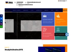 Studyinukraine.site thumbnail