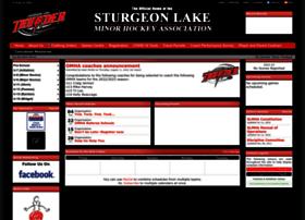 Sturgeonthunderhockey.ca thumbnail