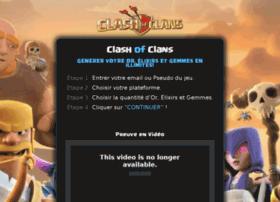 illimités pour Clash of Clans - Astuces - Générateur en ligne
