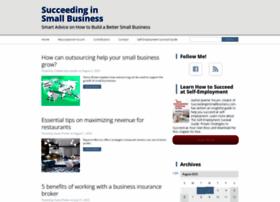 Succeedinginsmallbusiness.com thumbnail