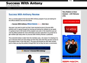 Successwithanthony.co thumbnail