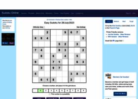 Sudoku.com.au thumbnail