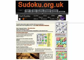 Sudoku.org.uk thumbnail