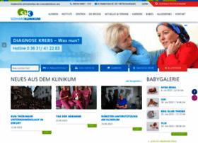 Suedharz-klinikum.de thumbnail