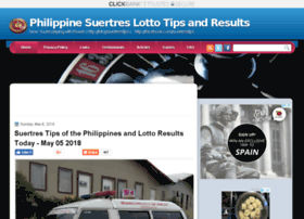 Additional websites, related to HOW TO COMPUTE SUERTRES LOTTO :