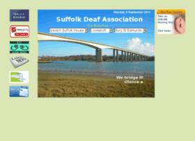 Suffolkdeaf.co.uk thumbnail