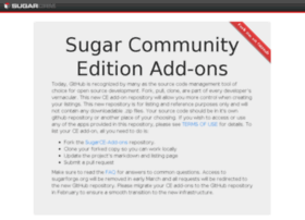Sugarforge.org thumbnail