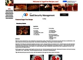 Sugarfree-recipes.com thumbnail