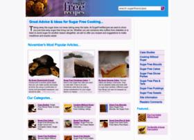 Sugarfreerecipes.co.uk thumbnail