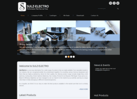 Sulzelectro.in thumbnail