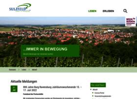 Sulzfeld.de thumbnail