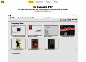 Sumatrapdfreader.org thumbnail