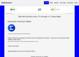 Sumfaucet.co thumbnail
