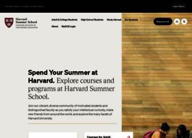 Summer.harvard.edu thumbnail