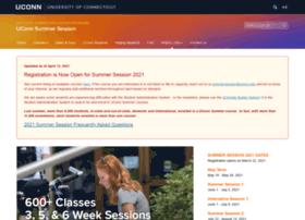Summersession.uconn.edu thumbnail